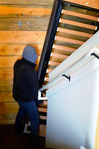 123Mountain's remaining inventory was carried out of the basement. The company was given an