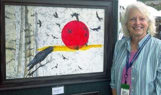 You can see Beth Erlund's artwork at the 39th annual Gathering at the Great Divide Mountain Art Festival in Breckenridge this Labor Day weekend.
