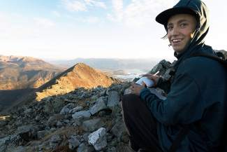 Dillon-based freeskier Ethan Swadburg. Earlier this season, the 19-year-old Colorado Springs native took first at the Aspen Open after placing first overall for the U.S. Revolution Tour in 2014.