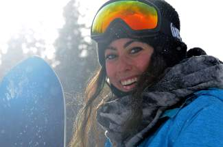 California snowboarder Jenise Spiteri. Beginning this season, Spiteri is training in Breckenridge to prepare for her push to become the first Maltese Olympic snowboarder.