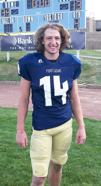 Former Tigers wide reciever Andrew Ike. The former wide receiver was recently named to the first team Rocky Mountain Athletic Conference for his breakthrough year as a junior linebacker for Fort Lewis College in Durango.
