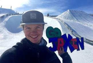 Breckenridge 15-year-old Jaxin Hoerter earned his first invite to X Games earlier in February and is now in Oslo, Norway for his inaugural X Games ski superpipe. The event is scheduled for Feb. 28.