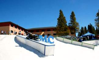 Scenes from the CMC Cloud City Rail Jam in 2015 at the Colorado Mountain College campus in Leadville. The event returns this weekend on March 26 with divisions for groms and adults at $10 apiece.