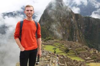 Bobby Moakley at Machu Picchu during a No Barriers excursion in 2015. The Boston native was born deaf and found a much-needed community through No Barriers, a Fort Collins-based nonprofit that pairs disabled athletes with guides and support at outdoors events across the country.