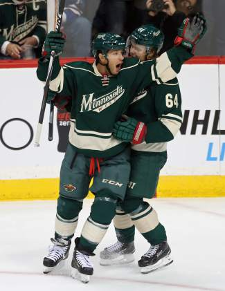 Parise, Wild blank Avalanche 5-0 in opener | SummitDaily com