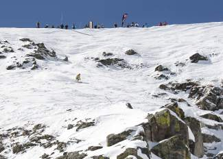 The 2015 GoPro Big Mountain challenge featured youth between ages 10 and 18 years old showcasing their skills on Breckenridge's Peak 6 extreme terrain. The event returns to Peak 6 this weekend with 170 athletes from across the region, the biggest turnout in the event's three-year history.