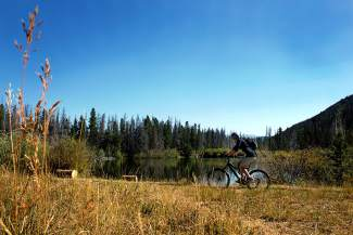 Summit County Bike Guide: Bill's Ranch Trail (video)