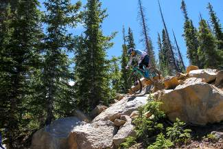 Summit County Bike Guide: Keystone Bike Park black runs (video)