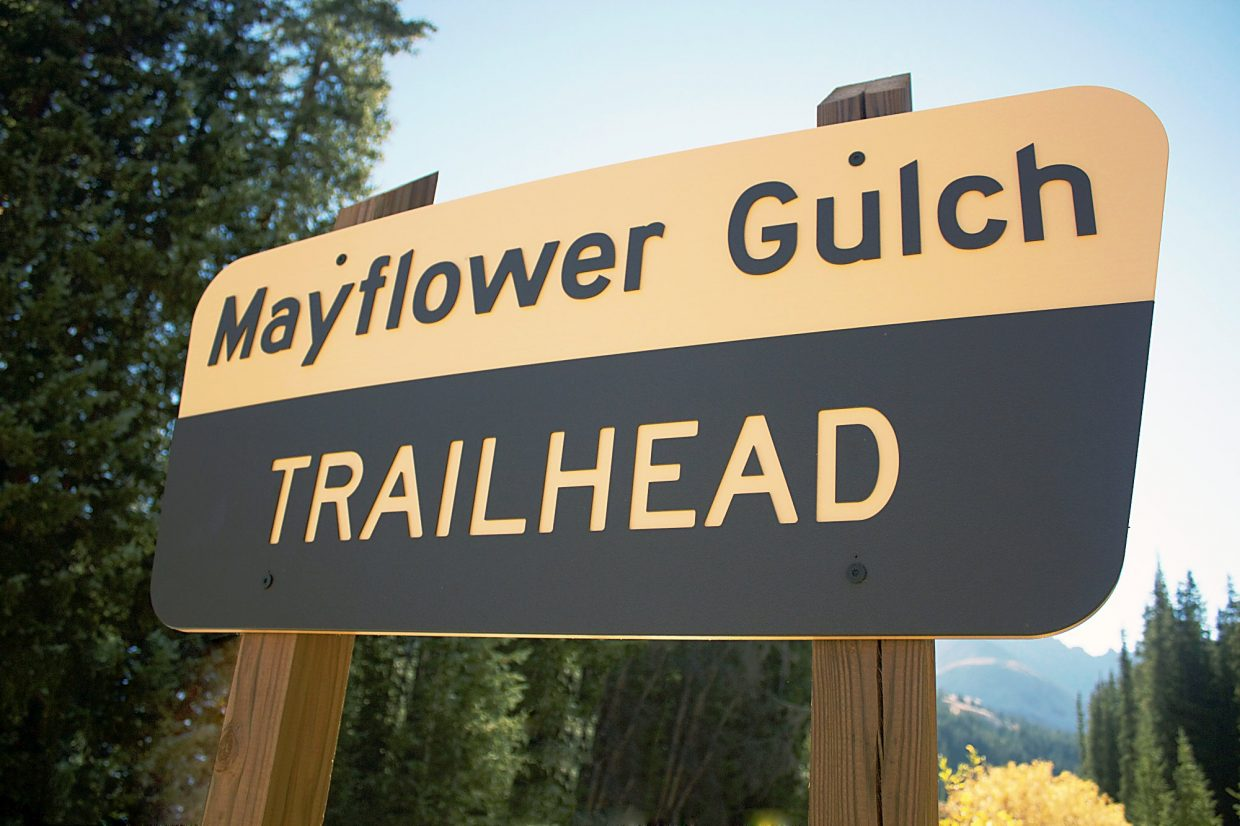 Mayflower Gulch — Summit County, CO