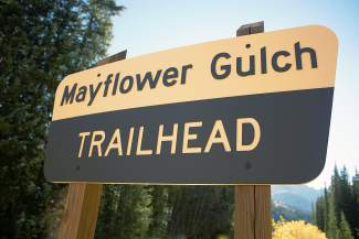 Summit County Bike Guide: Mayflower Gulch in fall (video)