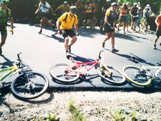 Adam Shaw at a race in the '90s. The longtime Summit local is leading the charge to bring back Montezuma's Revenge, now known as Mountain's Revenge, a classic endurance ride in the Montezuma area that returns on Aug. 20-21.