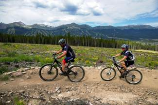 Riders on the Barney Ford trail participate in the poker ride during the 2013 Breck Bike Week. Bike Week returns this year from June 22-26, when locals celebrate all things biking on the trails they're so lucky to call home.
