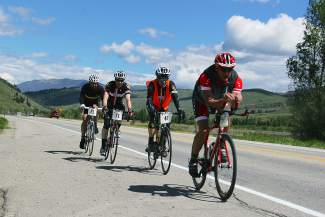 More than 125 cyclists came out for the first running of the Vuelta a Keystone, now known as the Vuelta a Dillon, in 2010. The event returns on Aug. 13 and features 20, 60 and 90-mile routes.