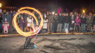 The Fire Arts Festival continues Sunday in Breckenridge from 5–9 p.m.