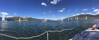 Sailboats cruise Lake Dillon on a stunning July morning. The lake is one of the toughest to navigate for veteran and beginner sailors alike, thanks in large part to constantly changing winds and microbursts.