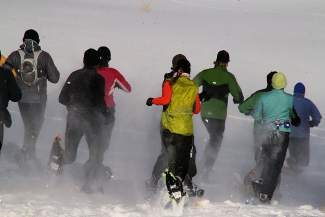 The town of Silverthorne will once again host the Swift Skedaddle Snowshoe Adventure at the Raven Golf Course on Saturday, Jan. 25. This annual race features wicked terrain, scenic views and tough competition. Register by calling (970) 262-7373 or by visiting the Silverthorne Recreation Center. To learn more, visit www.silverthorne.org.