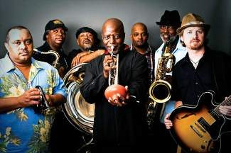 """The Dirty Dozen Brass Band will take the stage with New Sound Underground and special guest vocalist Arielle Verinis on Saturday, March 1, at The Barkley Ballroom in Frisco. To describe how the Dirty Dozen Brass Band has arrived at its 35th anniversary, trumpet player Gregory Davis employs a tried-and true New Orleans-centric analogy: """"It ends up being like a pot of gumbo — you drop in a little okra, drop in a little shrimp, you drop in some crabs. Before you know it, you've mixed in all these different ingredients and you've got a beautiful soup. That was our approach to music early on and it still is today."""" Doors open at 9 p.m., and tickets are $15. Visit www.barkleyballroom.com for more information."""