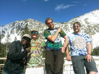 The Arapahoe Basin May Concert Series Shakin' at the Basin presents High Five on Saturday, May 24. Somewhere in between the majestic altitude of Colorado's highest peaks and the jubilation of homegrown music, the High 5 has found a synergy that transmutes what may first appear like a traditional jamming performance into a sensory-heightened experience. The players come from a wide variety of musical backgrounds, which makes for a fresh, well-traveled sound. The influences of bluegrass, reggae, folk, Americana, jam, trance, Afro-Cuban and good old rock 'n' roll combine among the group of artists and are amplified into a full room of sonic wealth. The free and family-friendly show runs from 1 to 4 p.m. in the base area. Visit www.arapahoebasin.com/events for more information.
