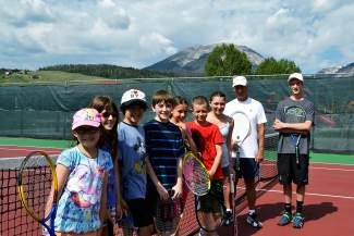 The Silverthorne Recreation Center is offering tennis camps for ages 4 to 6 (Rug Racquets), 7 to 9 (beginner) and 10 to 15 (advance beginner) during June and July. In the Rug Racquets class, children learn to love tennis through fun and games with tennis racquets and tennis balls. Hand-eye coordination and the concept of teamwork are also developed. During beginner classes, players learn proper technique for forehand, backhand, serve and volley. Coaches will assist players through interactive drills and games to grow hand-eye coordination while developing the players' understanding of teamwork and sportsmanship. And advance beginner lessons help kids review and develop technique for forehand, backhand, serve, volley and overhead smashes. Tennis scoring and etiquette are also taught. Competitive and noncompetitive games are played daily. Call the Silverthorne Recreation Center at (970) 262-7370 for more information or to register. Visit www.summitdaily.com and search 'Camp Summit County' for a complete listing of summer camp options in Summit County.