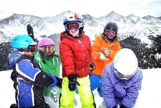 The 5th and 6th Grade Passport Programs give Colorado students the chance to ski for free, or at reduced costs, at 20 resorts, including Copper Mountain, shown here.