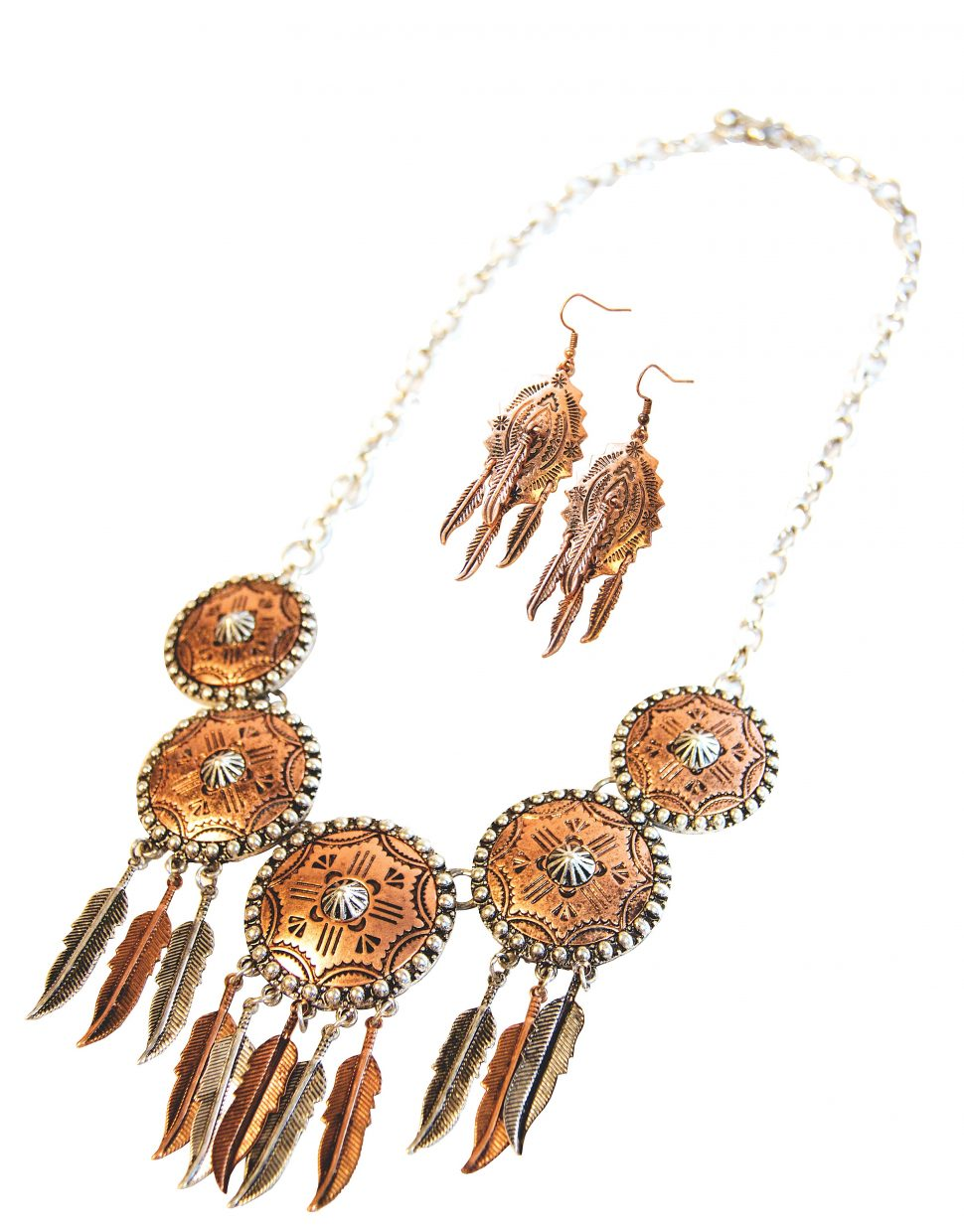 Featured: Sacred Shields Necklace and Earing set $59 for both