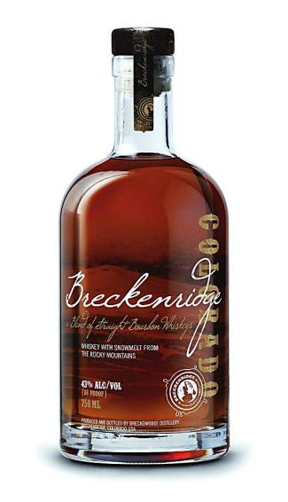 Blended with mineral-rich snowmelt water from the Rocky Mountains, this high rye-content bourbon whiskey has a spicy, robust taste and a refreshingly clean finish. Rated one of the top three 10-year-and-under bourbons in the world and 2012's Bourbon of the Year. Bourbon $45