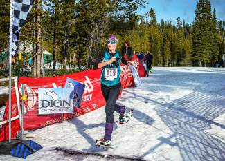 Summit High's McKenna Ramsay takes second overall (first for high school runners) at the National Snowshoe Championships in 2013. Ramsay compete in the Colorado High School Snowshoe Championships this coming Saturday Jan. 30.