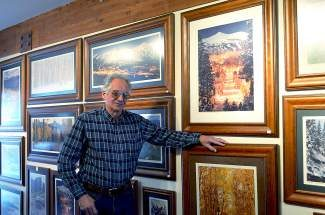 Steve Tohari, owner of Colorado Scenes in Breckenridge, recently moved farther south down Main Street into the pink Four Seasons Plaza with his Colorado scenic photogrpahy business.