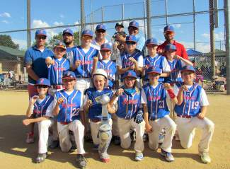 The Summit Extreme 11U team after taking second at the Colorado Amateur Baseball Association state tournament in Denver of the weekend of June 25-26.