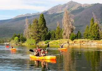 NRO on the water: Last week, the Frisco Bay Marina and Frisco Rowing Center hosted members of the National Repertory Orchestra, the visiting youth orchestra that serenaded town with a slate of shows in Breck and elsewhere. The NRO musicians enjoyed paddling and rowing on beautiful Lake Dillon — a nice morning off from concerts and rehearsals — and were treated to a sumptuous breakfast after rowing, which included breakfast casseroles, bananas foster French toast, sausage and fruit salad made by Nancy French (Frisco) and Barbara Calvin (Breckenridge). A visit to the rowing center has become an annual event for the orchestra, and you'd better believe they'll be back next summer.
