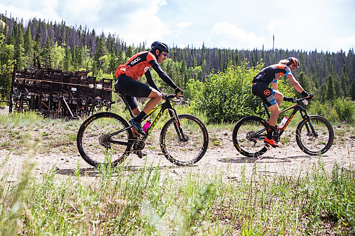 Scenes from Stage 1 of the 2016 Breck Epic stage race on the Pennsylvania Gulch loop.