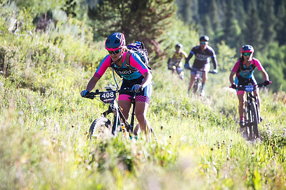Scenes from Stage 1 at the 2016 Breck Epic on the Pennsylvania Gulch loop.
