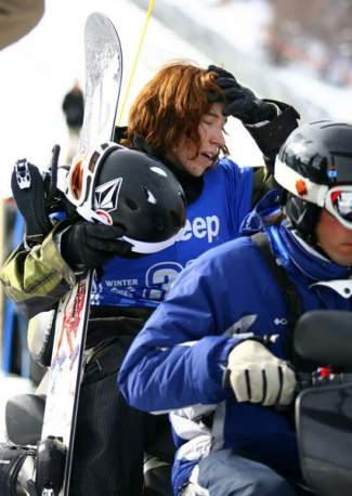 Shaun White at Winter X Games Aspen in 2007. This season, White returns to the Breckenridge Dew Tour for the first time since 2013 after competing only once since the 2014 Sochi Winter Olympics.