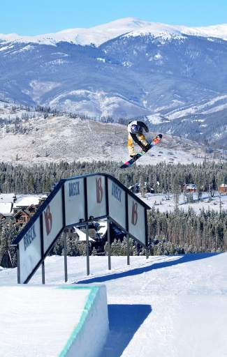 Silverthorne local Red Gerard competes in his first men's Dew Tour snowboard slopestyle on Dec. 13 at Breckenridge. This week marks a other first for the 15-year-old snowboarder with his first invite to the Burton U.S. Open in Vail.