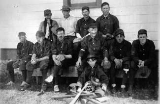 The Dillon baseball team circa 1910s.