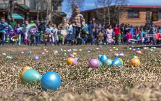 This weekend, Frisco and Copper Mountain host two kid-friendly egg hunts on Easter Sunday. Both events are free for youngsters, with 5,000 treat-filled eggs at Frisco Historic Park and more than 50,000 eggs strewn across the slopes at Copper.