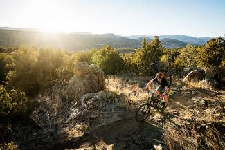 Idaho-born enduro pro Anne Gaylean on the trail for her first photo shoot in her newest home state, Colorado. Gaylean is in Keystone this weekend for her debut at the Keystone Big Mountain Enduro, part of a regional series spread between Colorado, New Mexico and California with a $45,000 prize purse.