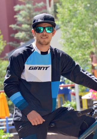 New Zealand mountain bike pro Carl Jones. The 28-year-old is making his North American debut today at the 2016 Keystone Big Mountain Enduro after a decade of racing World Cup XC in New Zealand and Europe.
