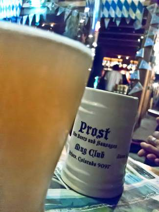Prost is on Frisco Main St.