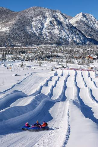 Tubing Hill at Frisco Adventure Park.