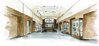 The Summit County Commons Lobby Renovation is a project being initiated and managed by the Summit County Arts Exhibit Committee. The renovations, beginning in September, will provide a gallery-like public space to the present artwork of Summit County artists.