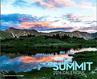 Thank you to all our Explore Summit 2016 Calendar Participants