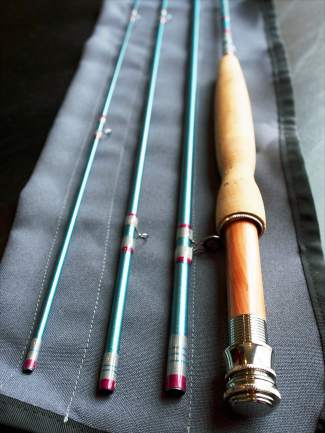 SaraBella's fly rods, which are designed for women, are perhaps most unique in the fact that they offer choice for size, weight and grip.