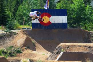Summit County Bike Guide: Frisco Bike Park free berm tracks and jump line