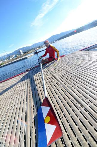 Chris Curtis pulls away from the dock near the Frisco Rowing Center on Lake Dillon. Curtis, 64, picked up rowing in his late fifties and now rows for at least one hour almost daily during the summer.