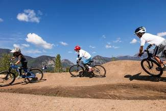 Local kids ride the Frisco Bike Park during one of the town's featured summer camps. Registration for Frisco Fin Club and sports camps opens at 8 a.m. Monday, April 7.