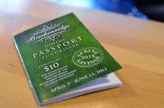 Breckenridge Dining Passports return for spring