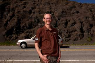 Todd Nelson of Kremmling knew something was wrong when he saw a plume of dust emerge from the side of the road on Highway 9 near the Green Mountain Reservoir. He quickly pulled over to see what had happened, and ended up saving a man's life.