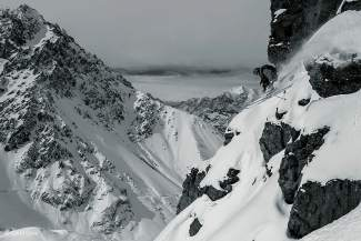 Ian McIntosh in Portillo, Chile.