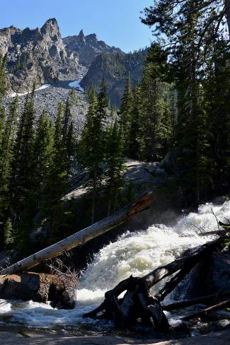 Colorado hiking trails with waterfalls: South Willow Falls